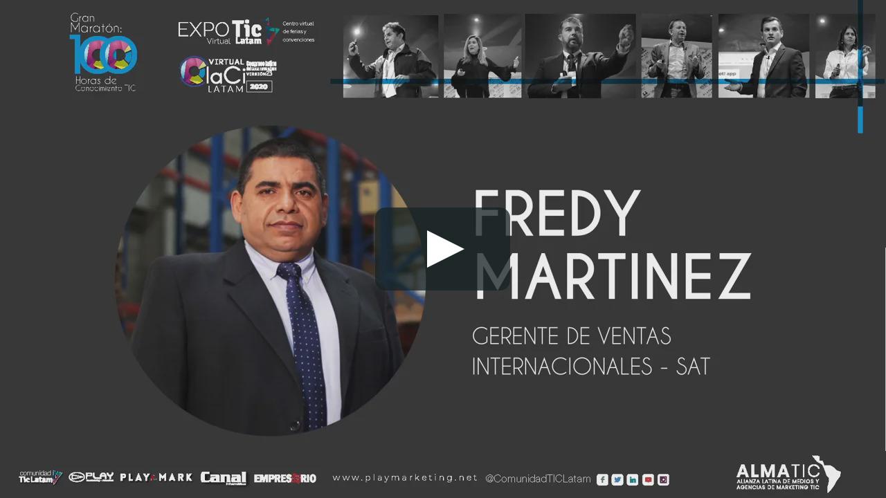Conferencia - Fredy Martinez